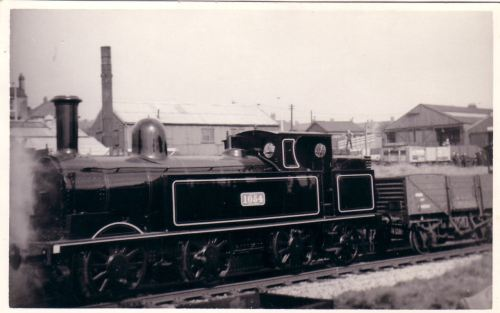 Arriving at Hednesford RPS depot 14-4-1961