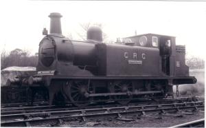 05053 No.9 Cannock Wood 0-6-0T LBSC Rly 1877 at Brighton C & R