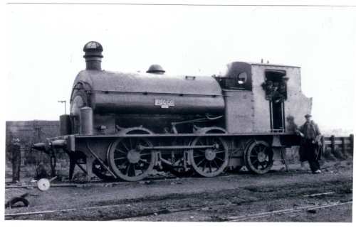05443 Foggo 0-4-2ST Self-Build 1946 BP Design CCC Yard