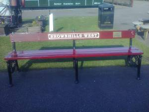 Roger Shenton's bench.