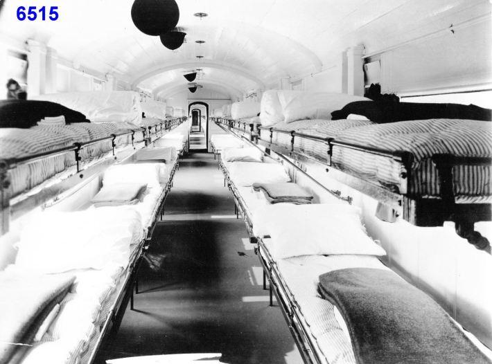 Invalid Ward GER Ambulance Train - Aug 1914