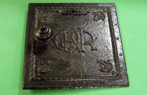 1682 Stove door