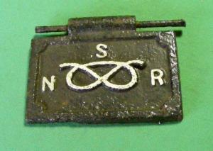 1857 NSR Stove door