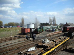 New Brownhills West Station at Easter, 2007.