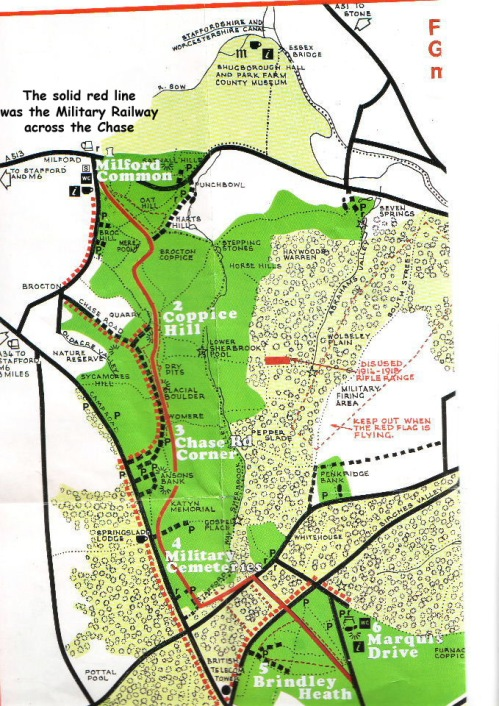 cannock-chase-great-war-trail Map