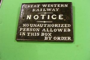 GWR SB Notice