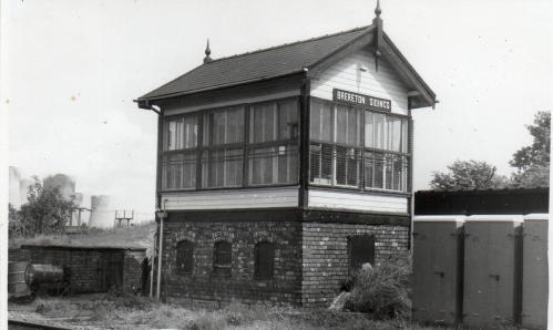 Brereton Sidinngs Signal Box