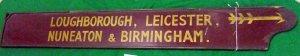 17Finger board BR Loughborough, Leicester, Nuneaton & Birmingham BR R1.S3