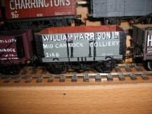 853 Coal wagon West Cannock 2171 C13