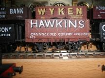 856 Coal wagon Hawkins C13