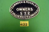 1422 Wagon plate CRC 572 C15