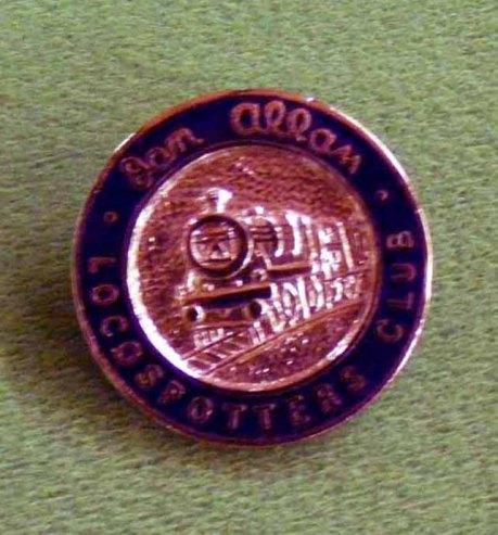 1118 Badge Loco-Spotters Club Badge C17