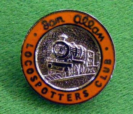 1119 Badge Loco-Spotters Club Badge C17