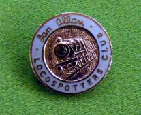 1120 Badge Loco-Spotters Club Badge C17