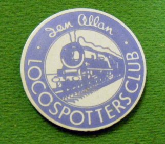 1779 Badge Ian Allan Loco Spotters C17