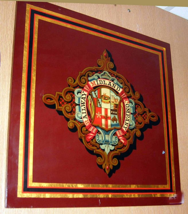 324 Coat of Arms Midland Railway W6